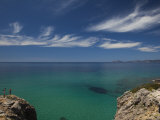 Sardinia, Western Sardinia, Alghero, Rada Di Alghero Bay, Italy Photographic Print by Walter Bibikow