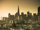 California, San Francisco, Downtown and Transamerica Building, USA Photographic Print by Alan Copson