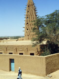 Mosque in Agadez, Niger Photographic Print by John Warburton-lee