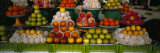 Fruits at a Market Stall, Bukhara, Uzbekistan Fotografiskt tryck av Panoramic Images,