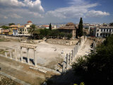 Ruins of an Agora with a Mosque, Fethiye Mosque, Roman Agora, Athens, Attica, Greece Photographie