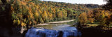 Waterfall, Middle Falls, Genesee, Letchworth State Park, New York State, USA Photographic Print by  Panoramic Images