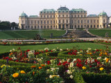 Vienna, the Belvedere Is a Baroque Palace Complex Built by Prince Eugene of Savoy, Austria Photographic Print by Paul Harris