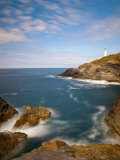 England, Cornwall, Trevose Head Lighthouse, UK Photographic Print by Alan Copson
