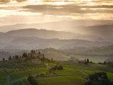 Landscape, San Gimignano, Tuscany, Italy Photographic Print by Doug Pearson