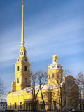 Peter and Paul Cathedral, Saint Petersburg, Russia, Photographic Print