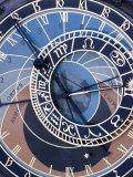 Astronomical Clock, Old Town Hall, Old Town Square, Prague, Czech Republic Fotografisk trykk av Jon Arnold