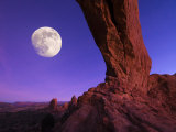 Utah, Arches National Park, North Arch, USA Photographic Print by Alan Copson