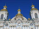 Russia, St Petersburg, St Nicholas Cathedral Photographic Print by Nick Laing