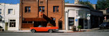 Car Parked in Front of Buildings, Historic District, Auburn, Placer County, California, USA Photographic Print by  Panoramic Images
