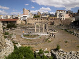 Ruins of a Library, Hadrian's Library, Monastiraki Square, Athens, Attica, Greece Photographie