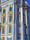 St Petersburg, Tsarskoye Selo, Catherine Palace Was Commissioned by the Empress Elizabeth, Russia Photographic Print by Nick Laing