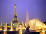 Eiffel Tower, Paris, France Photographic Print by Peter Adams