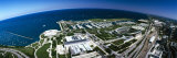 Aerial View of a City at the Lakeside, Lake Michigan, Chicago, Cook County, Illinois, USA Photographic Print by  Panoramic Images