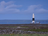 Inisheer Lighthouse, Inisheer, Aran Islands, Co, Galway, Ireland Photographic Print by Doug Pearson