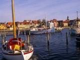 Harbour and Town of Faaborg, Denmark Photographic Print by Paul Harris