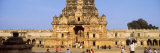 Tourists in Front of a Temple, Brihadeeswarar Temple, Thanjavur, Tamil Nadu, India Photographic Print by  Panoramic Images