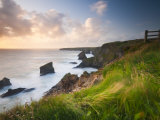 England, Cornwall, Bedruthan Steps or Carnewas, UK Photographic Print by Alan Copson