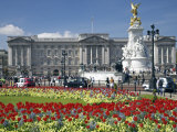 Buckingham Palace Is the Official London Residence of the British Monarch Photographic Print by Julian Love