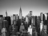 Chrysler Building and Midtown Manhattan Skyline, New York City, USA Lámina fotográfica por Jon Arnold