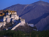 Lhasa, Potala Palace, Tibet Photographic Print by Paul Harris