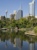 New South Wales, Sydney, the Green Surrounds of the Royal Botanic Gardens, Australia Photographic Print by Andrew Watson