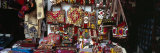 Textiles for Sale at a Market Stall, Bukhara, Uzbekistan Photographic Print by  Panoramic Images