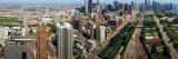 360 Degree View of a City, Chicago, Cook County, Illinois, USA Photographic Print by  Panoramic Images