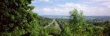 Road Passing Through a Landscape, Baden-Wurttemberg, Germany Photographic Print by  Panoramic Images