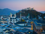 Alt Stadt and Hohensalzburg Fortress, Salzburg, Austria Photographic Print by Doug Pearson