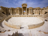 Theatre in the Spectacular Ruined City of Palmyra, Syria Photographic Print by Julian Love