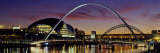 Bridges across a River, Tyne River, Newcastle-Upon-Tyne, Tyne and Wear, England Photographic Print by Panoramic Images 