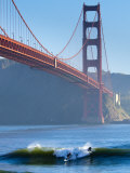 California, San Francisco, Golden Gate Bridge, USA Stampa fotografica di Alan Copson