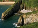 Pembrokeshire, Skrinkle Haven on the South Coast of Pembrokeshire, Wales Photographic Print by Paul Harris