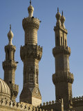 Minarets of the Al-Azhar Mosque in Islamic Cairo, Egypt Photographic Print by Julian Love