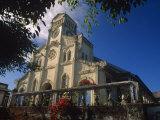 Pacific Islands, Kingdom of Tonga, Catholic Church in Neiafu, Capital Town of Vava'U Island Photographic Print by Paul Harris