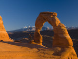 Utah, Arches National Park, Delicate Arch, USA Photographic Print by Alan Copson