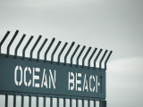 California, San Diego, Ocean Beach and Fishing Pier, USA Photographic Print by Michele Falzone