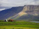 Landscape Near Isafjordur, Westfjords, Iceland Photographic Print by Michele Falzone