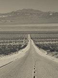 California, Mojave Desert, Amboy Road, USA Photographie par Walter Bibikow