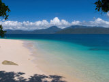 Beach on Fitzroy Island, Queensland, Australia Photographic Print by Michele Falzone