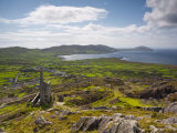 Old Copper Mine, Allihies, Beara Peninsula, Co, Cork and Co, Kerry, Ireland Photographic Print by Doug Pearson