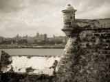 Castillo De Los Tres Reys Del Morro, Commonly known as El Morro, across Bay from Havana City, Cuba Photographic Print by Paul Harris