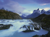 Cuernos Del Paine, Torres Del Paine National Park, Patagonia, Chile Photographic Print by Gavin Hellier