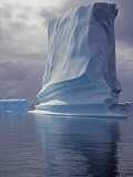 Grandidier Channel, Pleneau Island, Grounded Iceberg, Antarctica Photographic Print by Allan White
