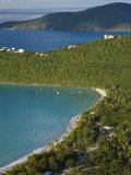 Us Virgin Islands, St, Thomas, Beach at Magens Bay, Caribbean Photographic Print by Gavin Hellier