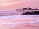 Southwold Pier at Dawn, Suffolk, UK Reproduction photographique par Nadia Isakova