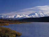 Mount Mckinley, 2032Ft, from Reflection Lake, Denali National Park Photographic Print by John Warburton-lee