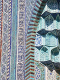 Uzbekistan, Samarkand, Shah-I-Zinder Necropolis Photographic Print by Jane Sweeney