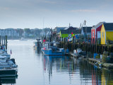Maine, Portland, Widgery Wharf, USA Photographic Print by Alan Copson